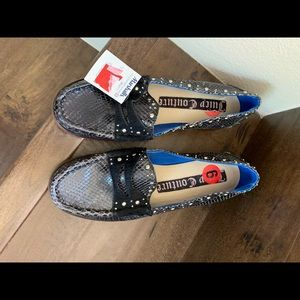 NWT Juicy Couture Snake and Studded Loafer